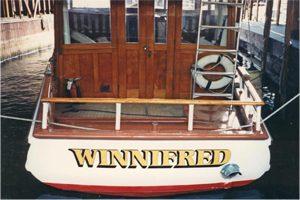 Boat Lettering in Jensen Beach