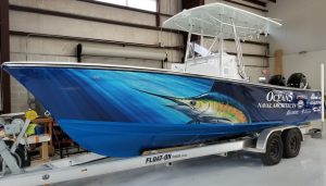 boat wrap florida
