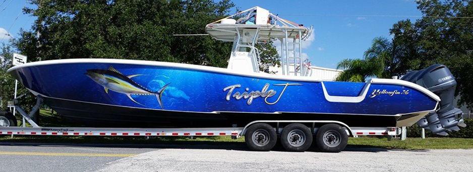 Boat Wraps For Port St Lucie And Psl Florida