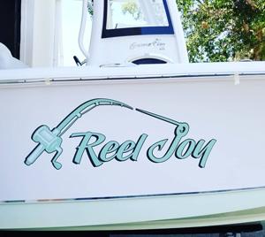 Custom Boat Lettering Graphics